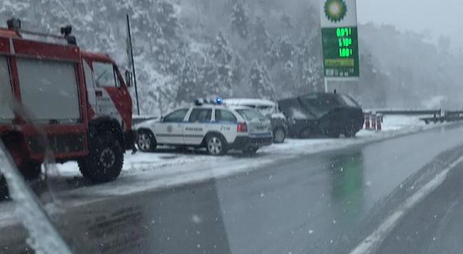 Dos accidents de trànsit sense ferits greus a Andorra la V