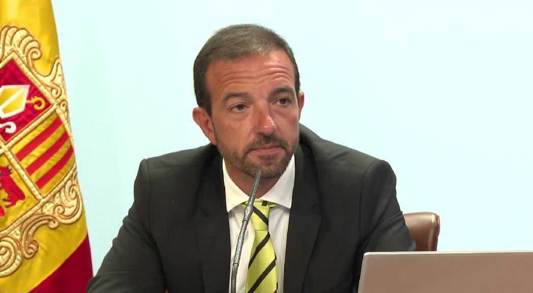 Torres preveu adjudicar les obres per estabilitzar la zona de l'esllavissada en un màxim de dues setmanes