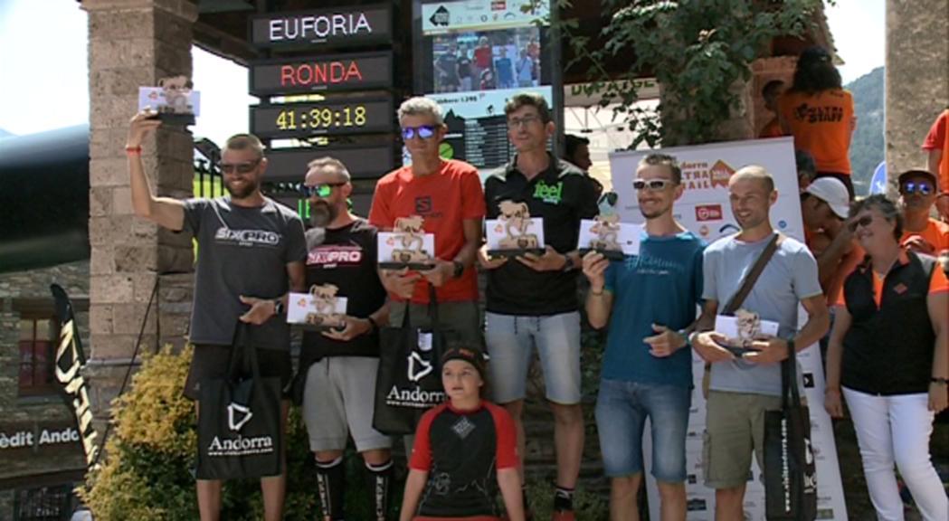 Traspàs plàcid a la direcció i rècord d'inscrits a l'11a edició de l'Andorra Ultra Trail