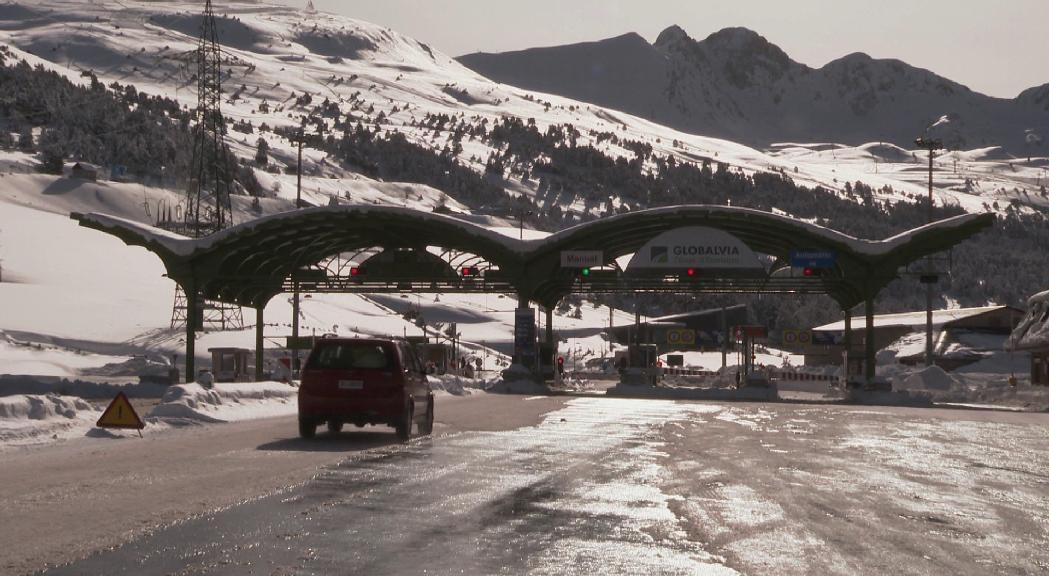 Tres milions per subvencionar el túnel d'Envalira per a residents i treballadors del Pas
