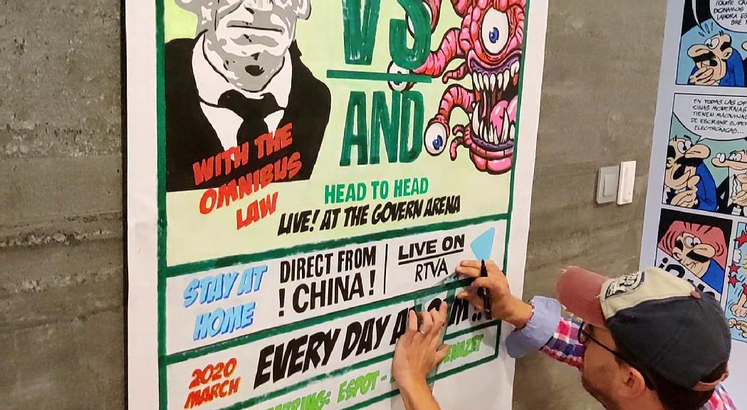 L'artista Roger Lorente ha elaborat un cartell inspirant-se e