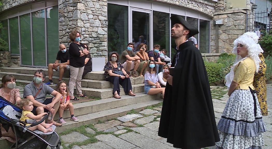 Turisme i teatre a Andorra la Vella de la mà de Fiter i Rossell