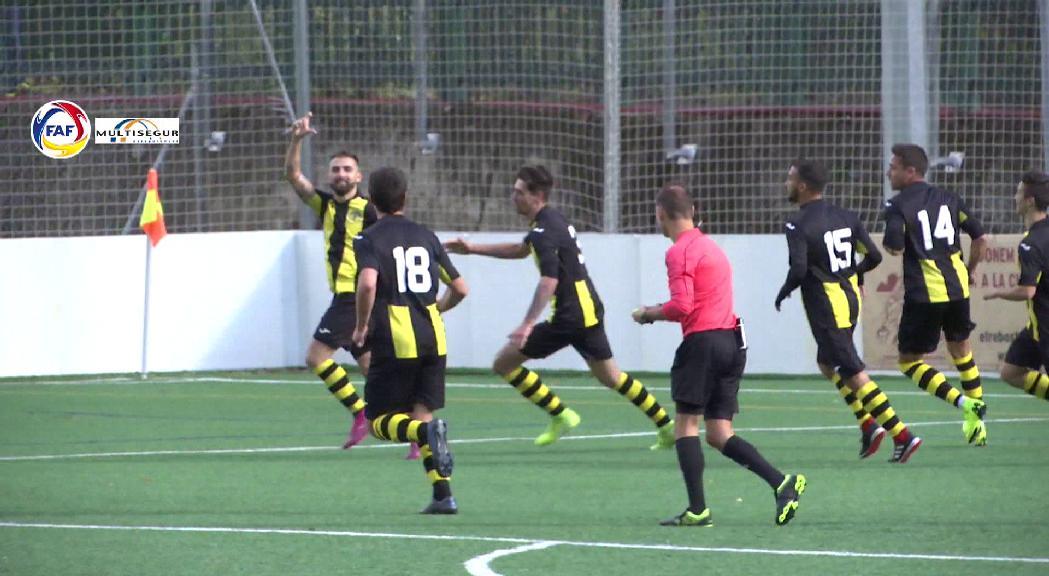 A la Lliga Multisegur de futbol l'Inter d'Escaldes es man