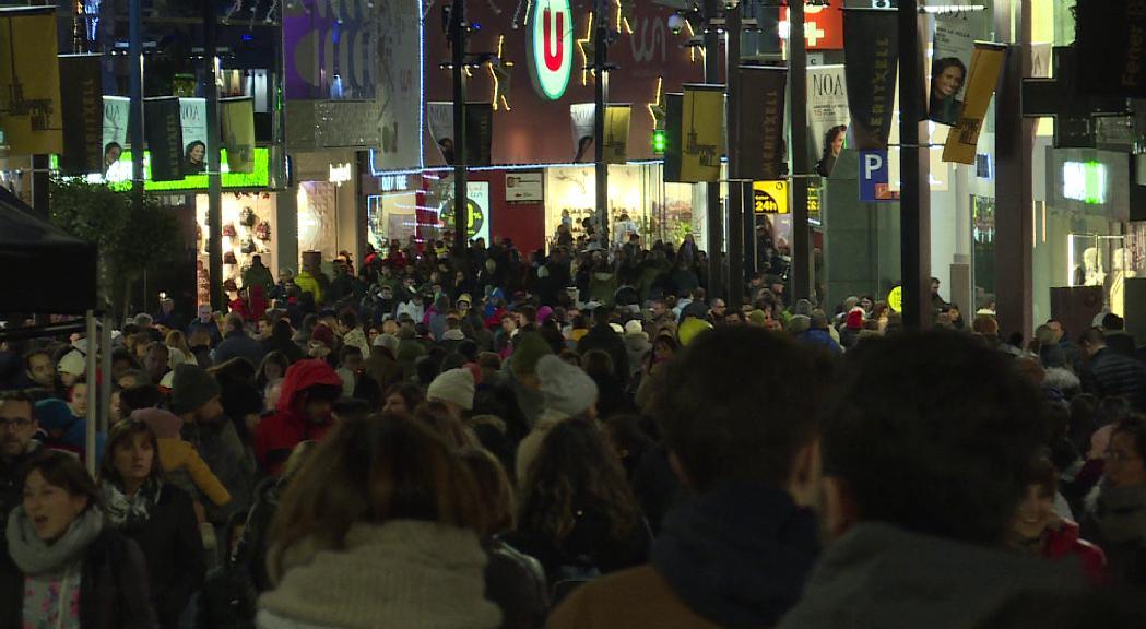 Últim dissabte de la 7a edició de l'Andorra Shopping Festival