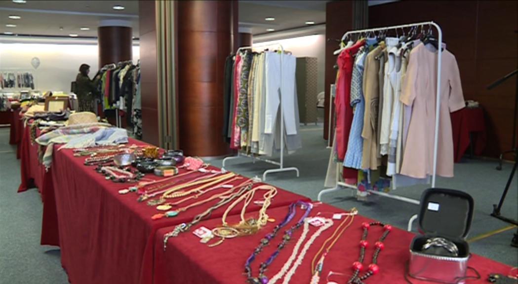 Unicef recapta prop d'11.000 euros als Encants Vintage