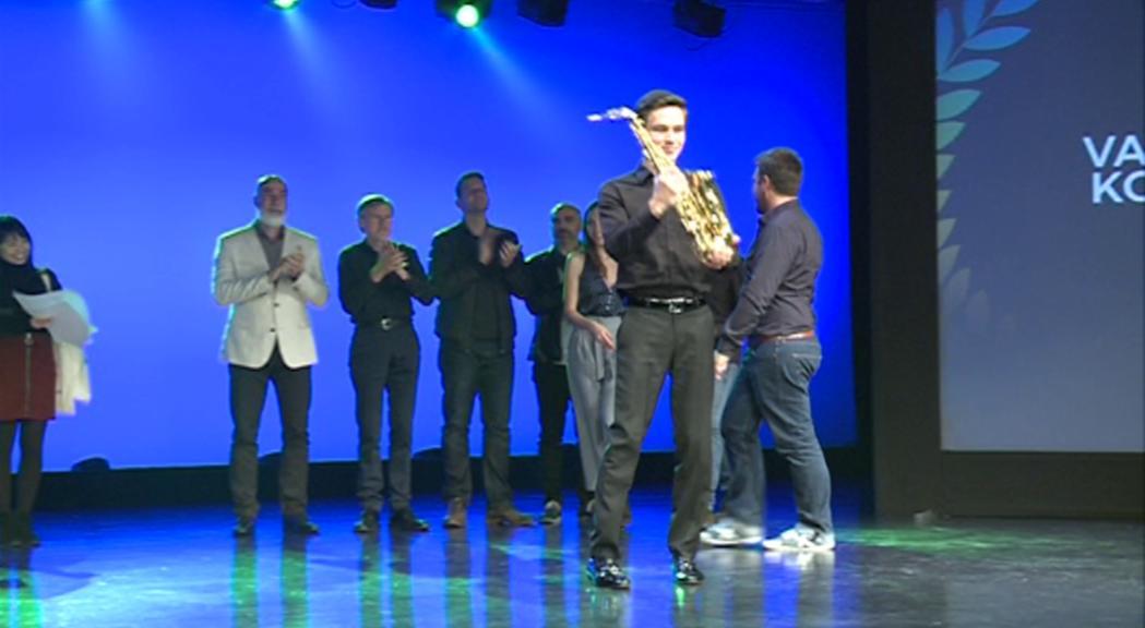 Valentin Kovalev guanya el sisè concurs Solo Saxophone de l'Andorra Sax Fest