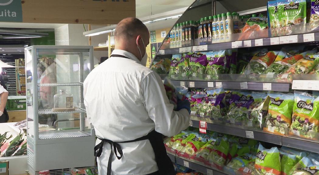 Les vendes a les grans superfícies comercials augmenten més d'un 80% al maig