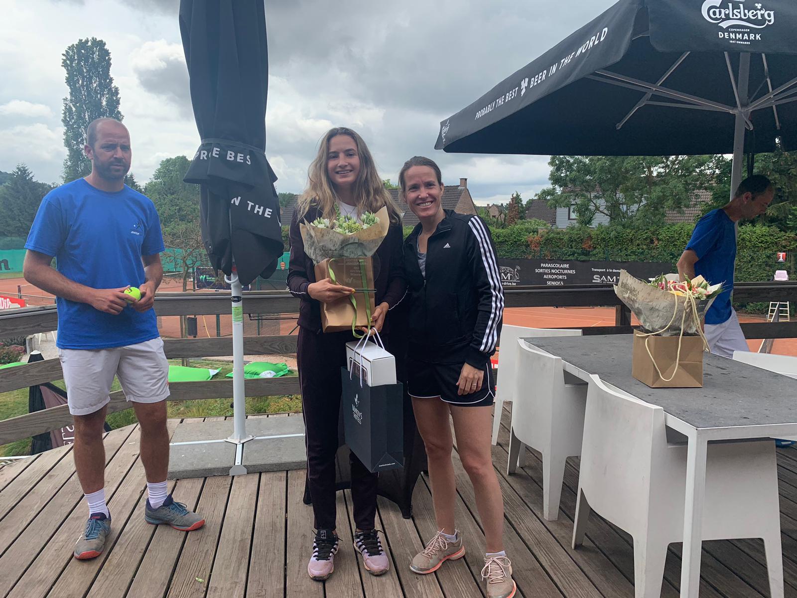 Vicky Jiménez s'adjudica el primer ITF Júnior de grau 4 a Bèlgica