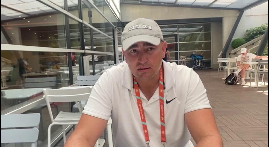 Vicky Jiménez arriba a la tercera ronda del torneig júnior de Roland Garros