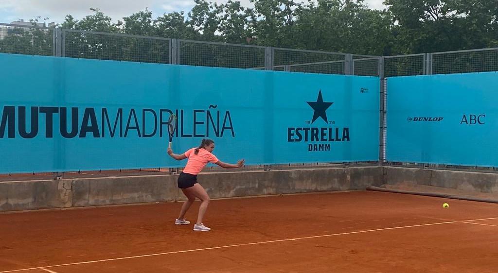 Vicky Jiménez s'estrenarà al Mutua Open de Madrid contra la campiona de la darrera edició