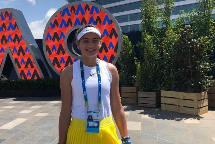 Vicky Jiménez supera la primera ronda de l'Open d'Austràlia júnior