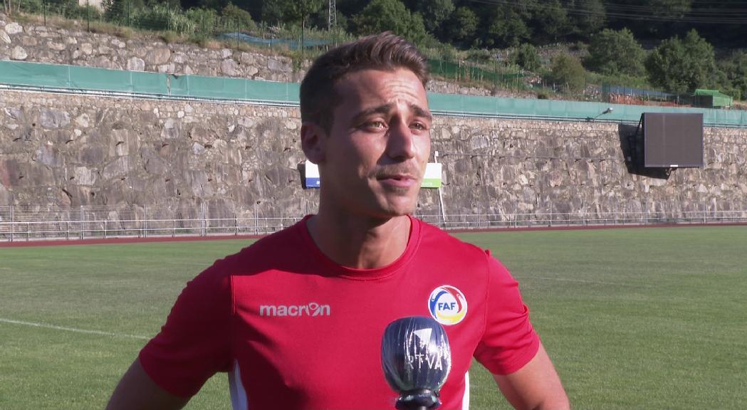 Victor Bernat obté el passaport andorrà amb 33 anys i ja entrena amb la selecció
