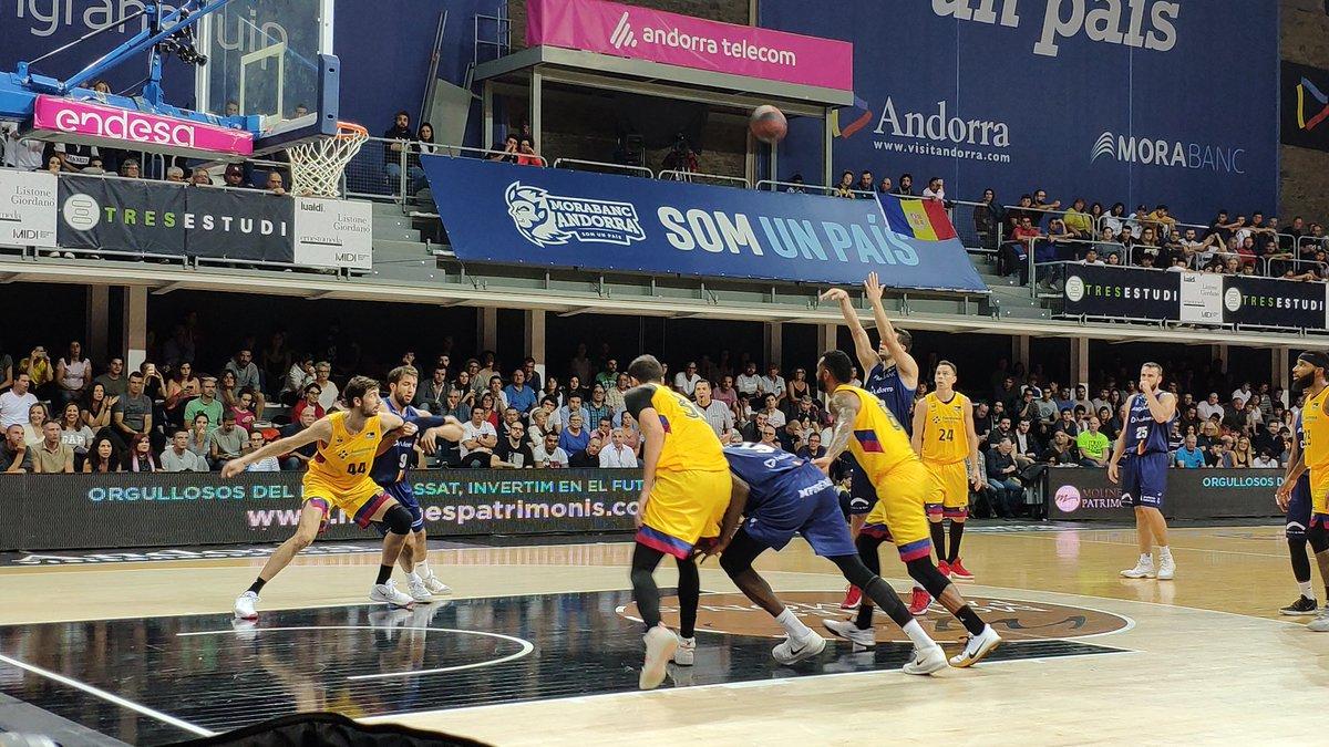 El MoraBanc Andorra ha sumat aquest diumenge la segona vict&ograv