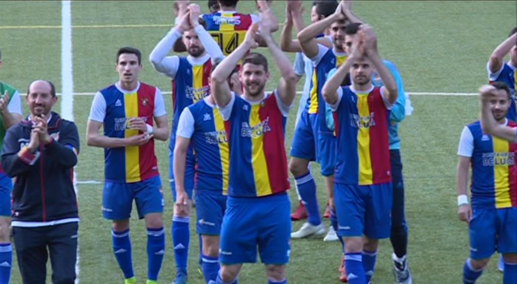 Victòria contundent del FC Andorra contra el líder (3-0)