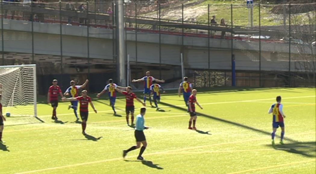 El Viladecans ensopega i l'Andorra depèn d'ell mateix per guanyar la lliga