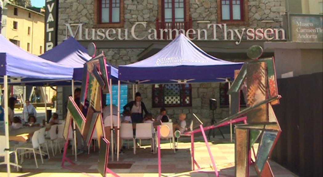 Els visitants del Carmen Thyssen recapten 365 euros per a Unicef en la jornada #PayWhatYouWish