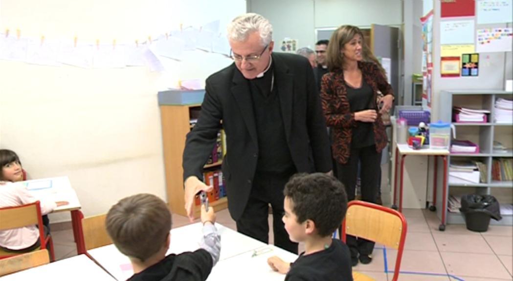 L'arquebisbe d'Urgell ha continuat la visita pastoral a Escaldes-