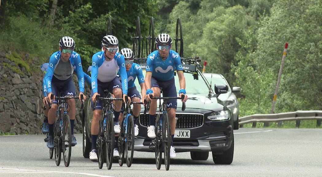 La Vuelta 2022 no visitarà Andorra