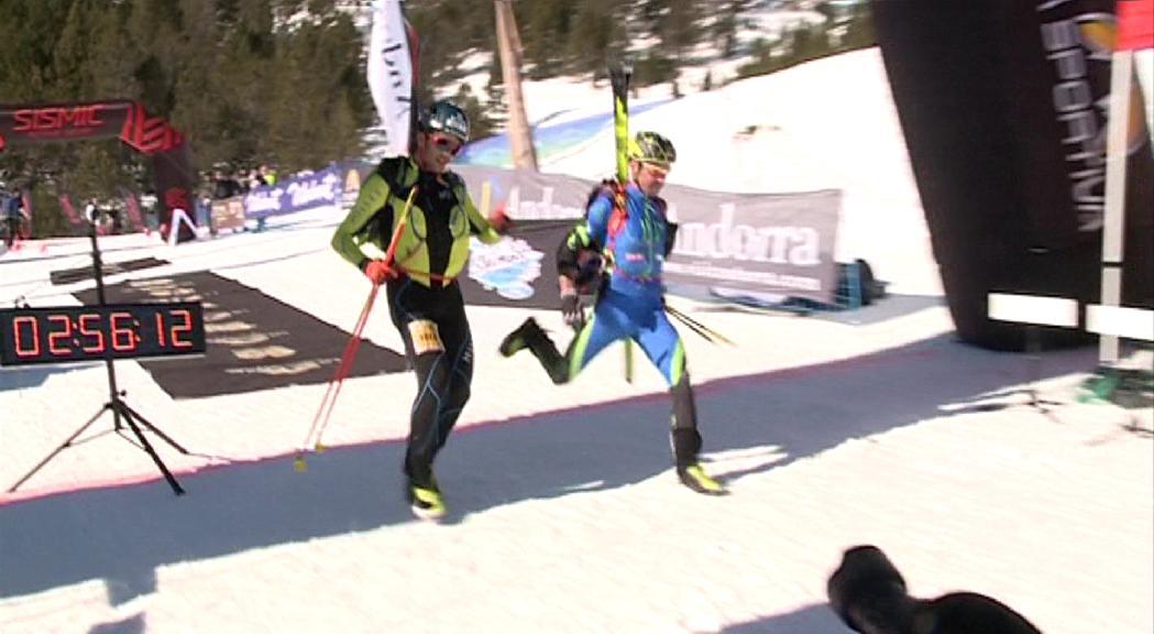 L'equip nacional d'esquí de muntanya estarà represe