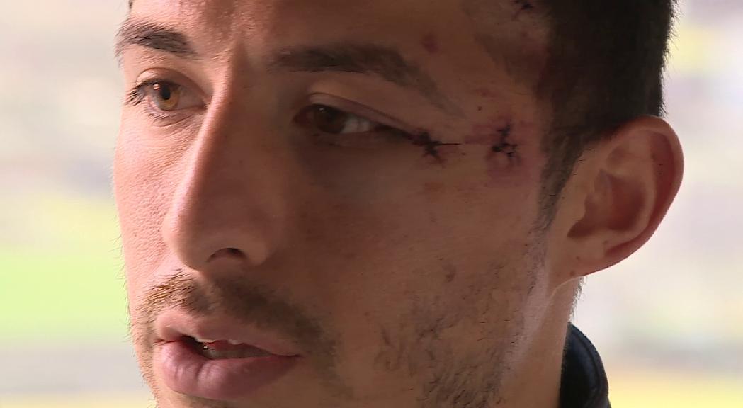 Vuit mesos de presó condicional per a Júnior Kobon, l'agressor del jugador Richy Hurtado