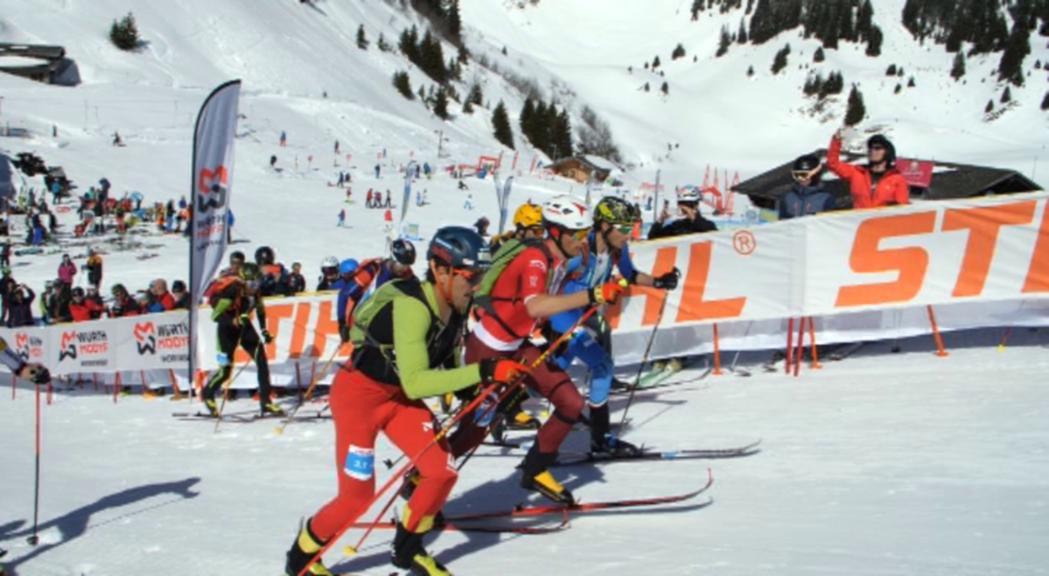 Vuitena posició per equips d'Andorra per tancar el Mundial d'esquí de muntanya