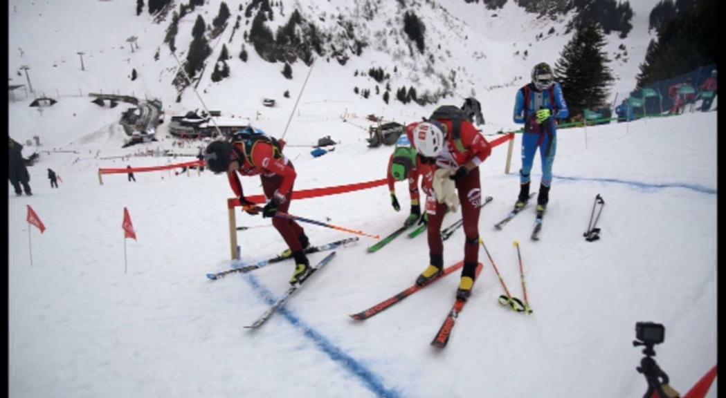 Xavi Areny, el millor andorrà a la individual del Mundial d'esquí de muntanya (27è)