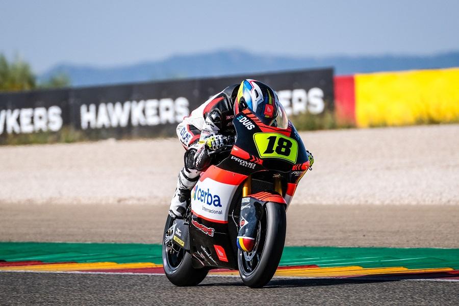 Xavi Cardelús no puntua a Alcanyís en l'Europeu de Moto2