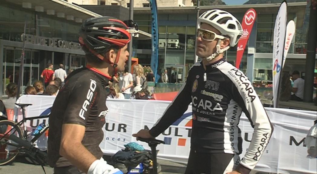 Xavi Ferrer i Guillem Muñoz, vencedors de la primera etapa de l'Andorra Bike Race