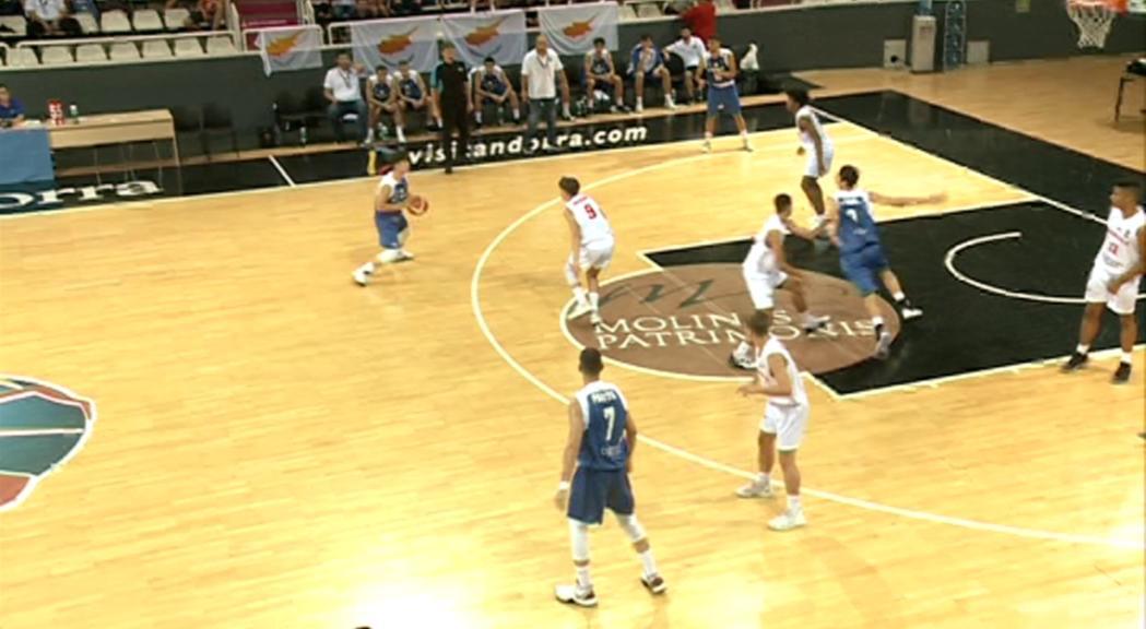 Xipre guanya l'Europeu C sub-18 masculí al Poliesportiu d'Andorra