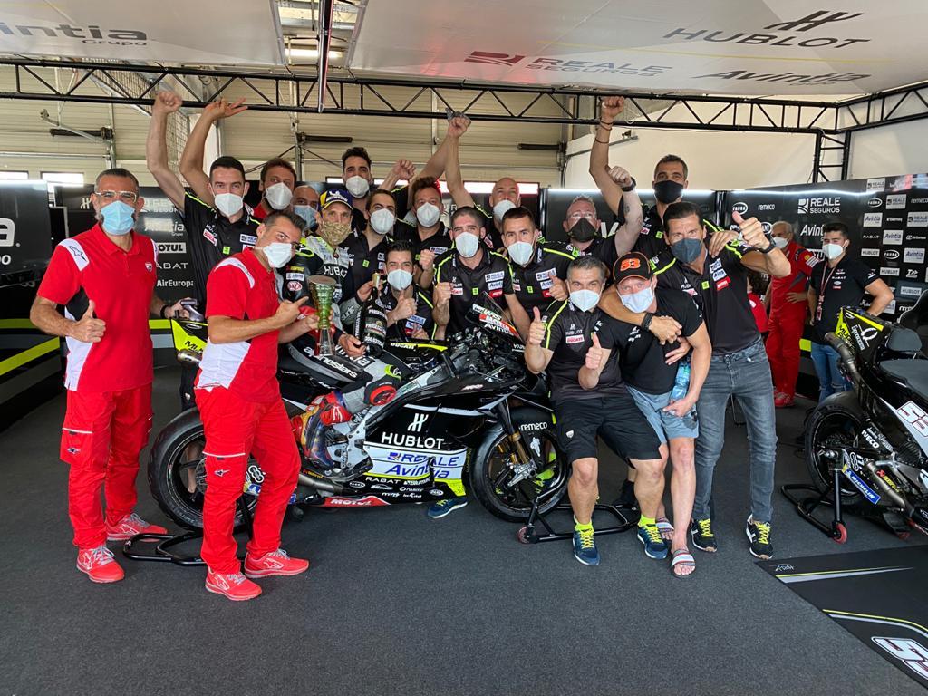 Zarco firma el primer podi del Reale Avintia Racing al Mundial de MotoGP