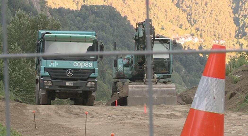 Mortés justifica el nou aparcament a la Cortinada i aclareix que no es fa en una zona d'esbarjo