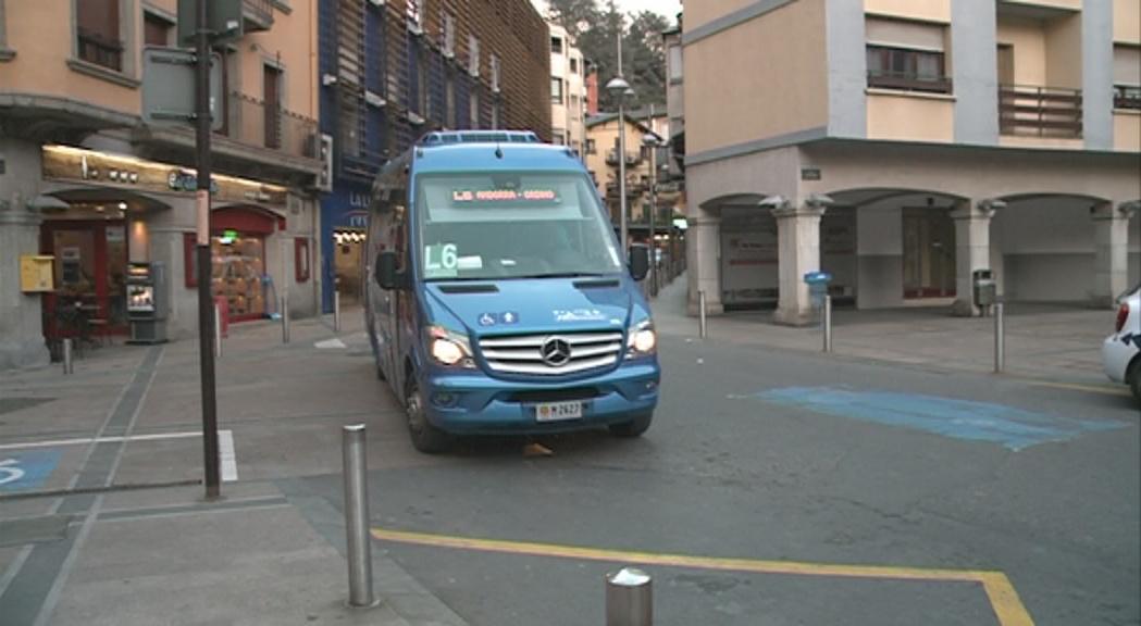 El comú vol eliminar els autobusos a la part alta de Meritxell