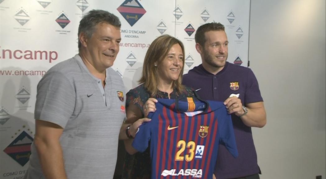 Xavi Pascual anuncia a Encamp canvis de filosofia en el nou Barça d'handbol