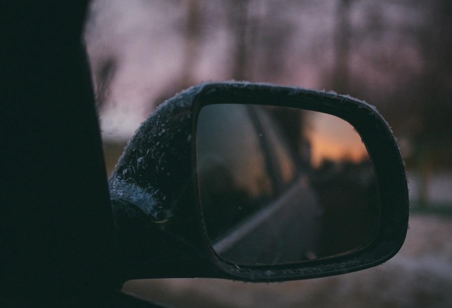 El mirall retrovisor