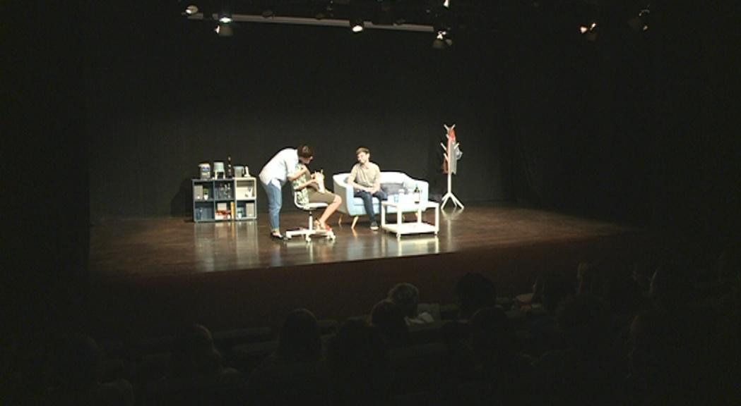 """S'estrena a Andorra """"Les cigonyes venen de Tailàndia"""", una coproducció de l'ENA amb Boris Cartes al repartiment"""