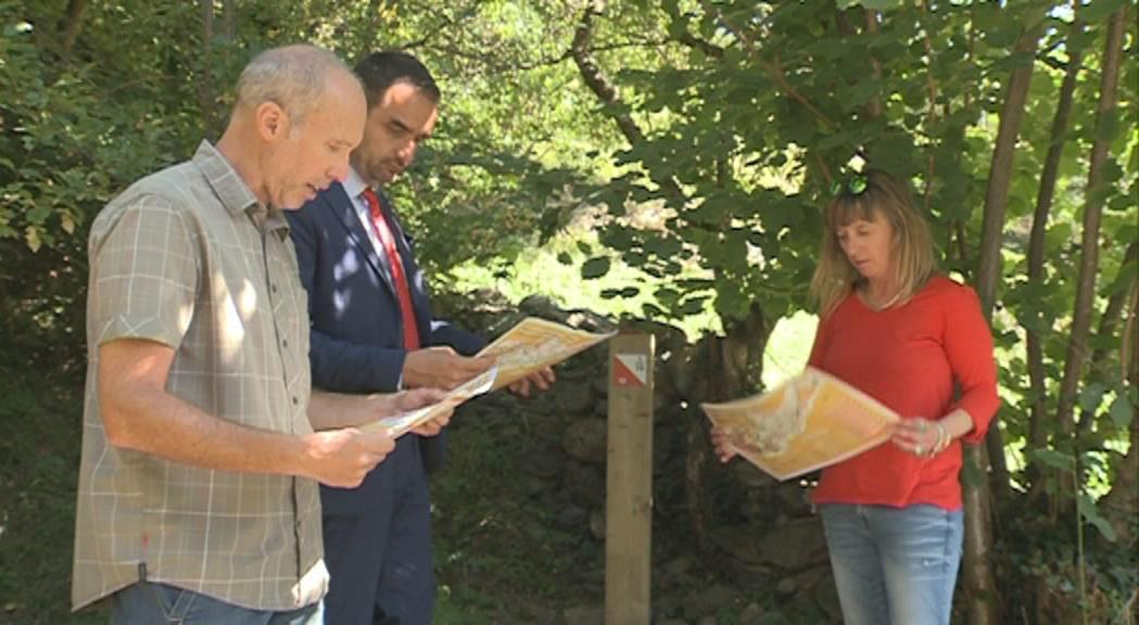 Ordino inaugura un circuit d'orientació com a nou atractiu per a la parròquia