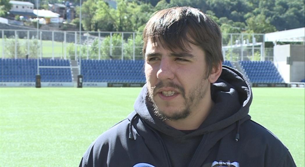 El VPC Andorra perd Dani Raya per lesió pel que resta de temporada