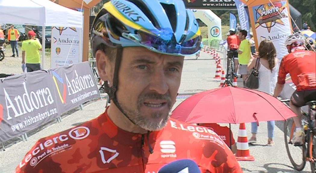 L'andorrà David Fernández, primer a completar els 145 km de La Purito
