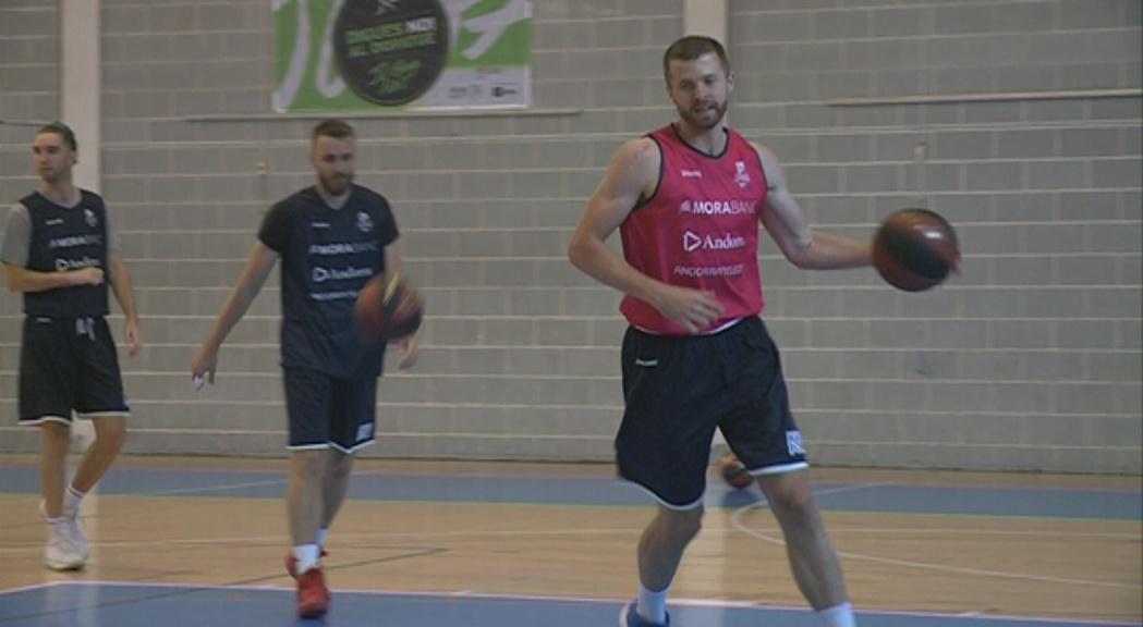 El MoraBanc Andorra ha entrenat aquest dijous al matí sens