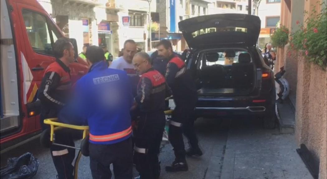 La dona de 46 anys atropellada a la Massana es manté estable dins la gravetat