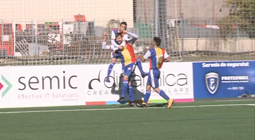 L'FC Andorra es recupera amb la tornada de set jugadors