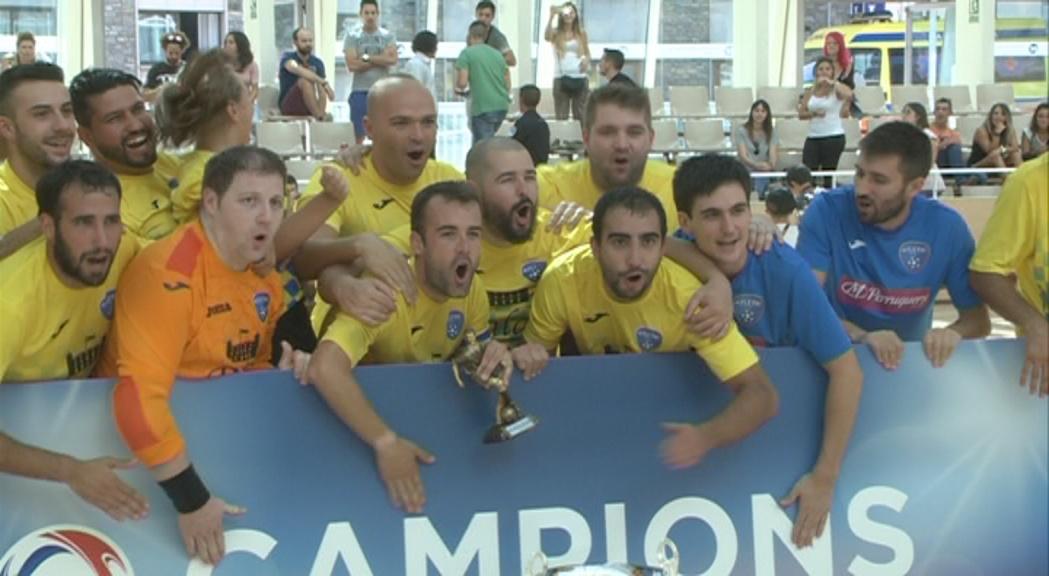 L'Atlètic d'Escaldes, campió de la Supercopa en guanyar el Madriu per 11 a 8