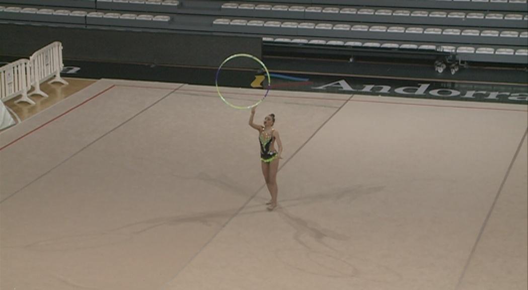 Més d'un centenar de gimnastes al Campionat d'Andorra de gimnàstica rítmica