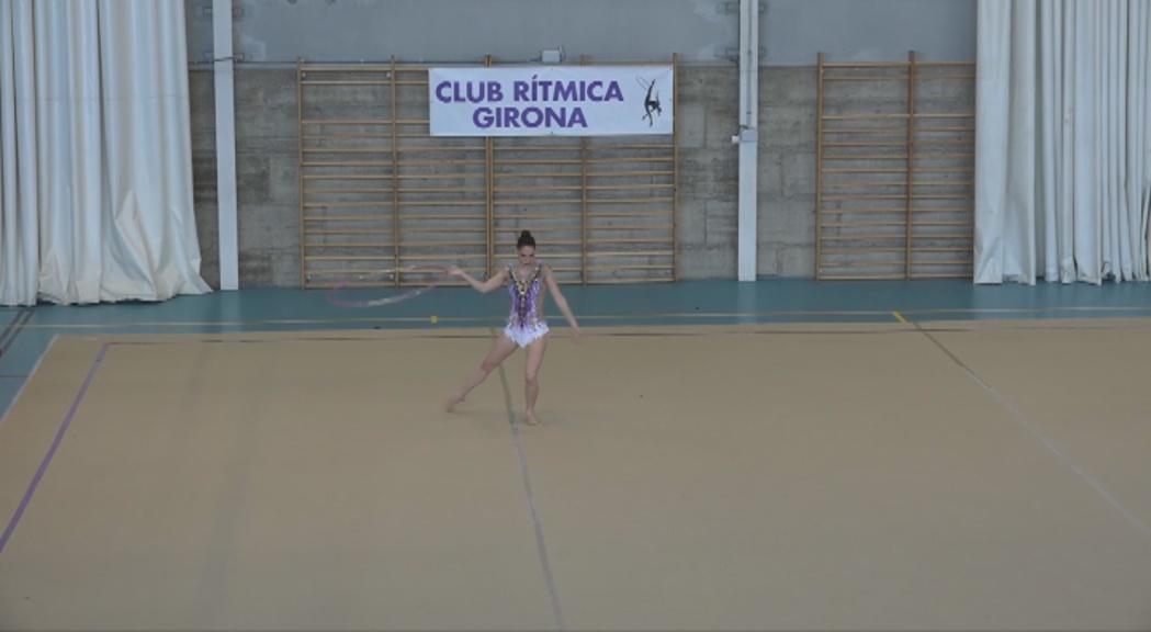 Tres podis de les gimnastes andorranes a la Copa Catalana de rítmica