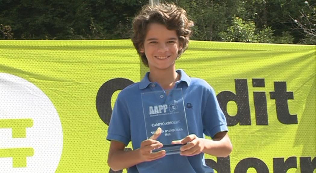 Un nen de 12 anys guanya l'Open d'Andorra de pitch&putt