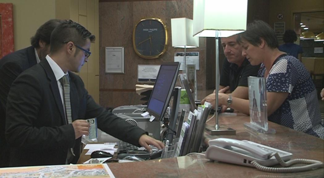 La Unió Hotelera xifra en un 10% la caiguda de l'ocupació a l'agost