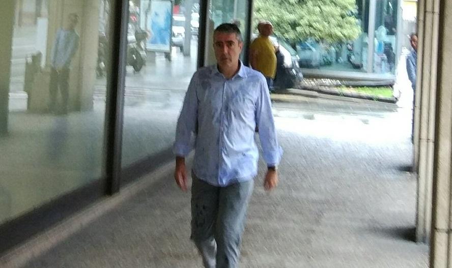 Joan Pau Miquel declara per les suposades extorsions de la policia espanyola