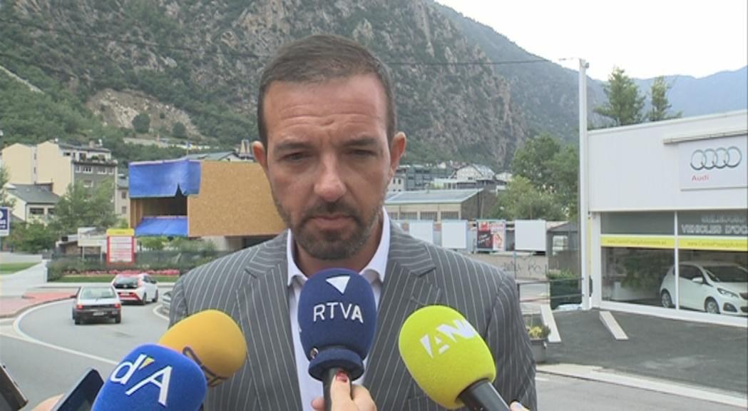Jordi Torres no ajorna l'heliport