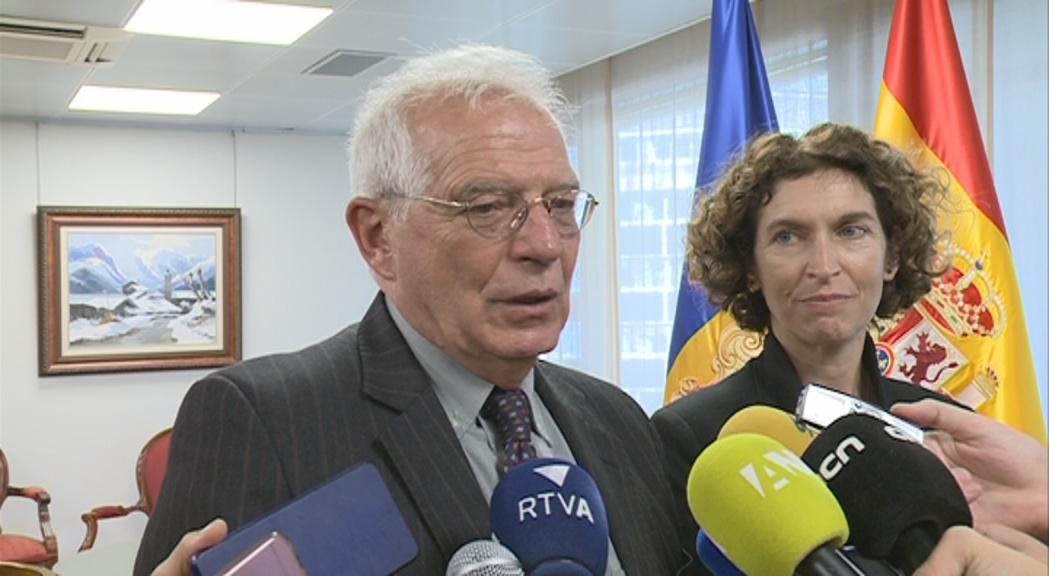 Borrell assegura que Andorra haurà d'assumir el subsidi d'atur dels ciutadans comunitaris