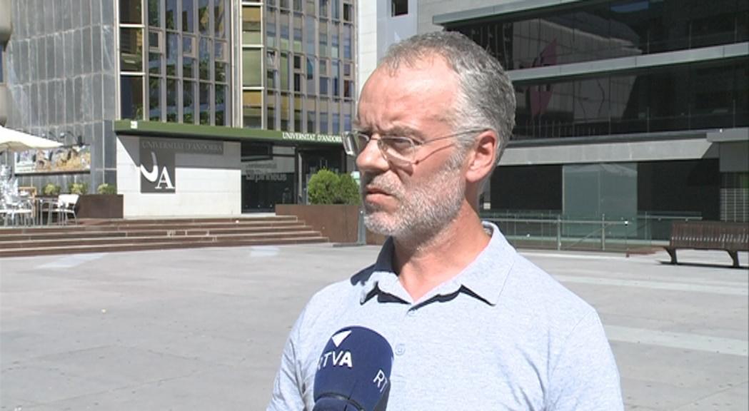 """Josep Roig acusa el Govern de """"boicot sistemàtic"""" als projectes de Sant Julià"""